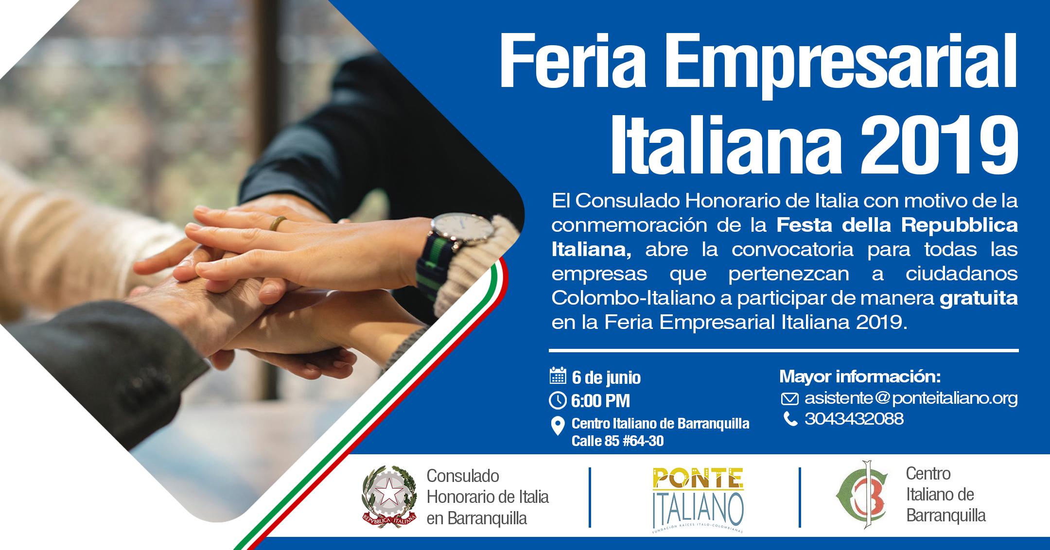 Feria Empresarial Italiana 2019