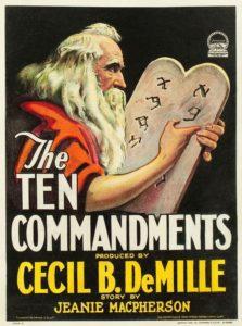 Los diez Mandamientos, 1923